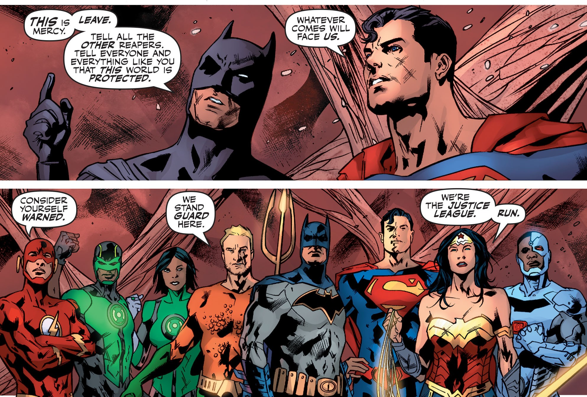 Swipe File: Justice League Rebirth And Doctor Who - And Possibly ...
