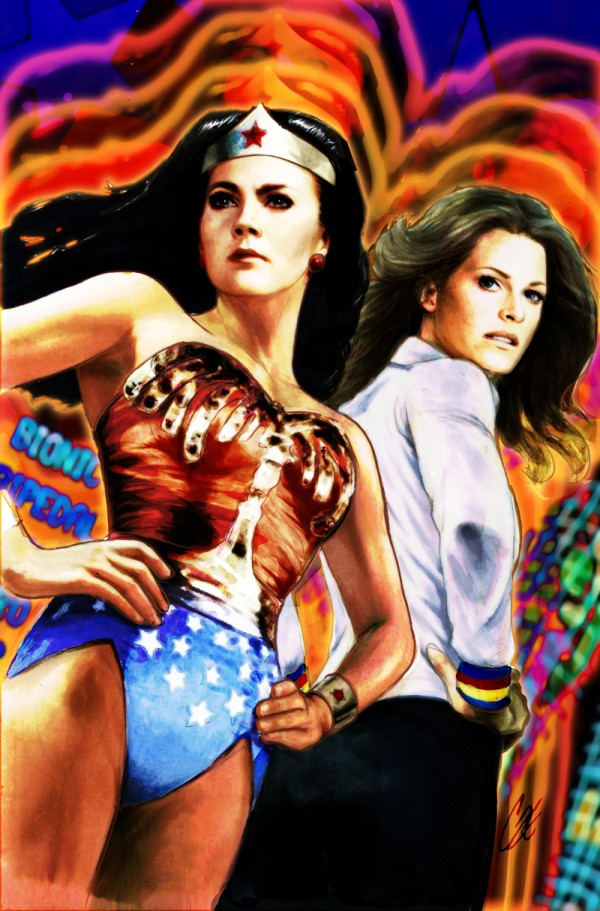 Wonder Woman '77 Bionic Woman Cover Cat Staggs1a[3]
