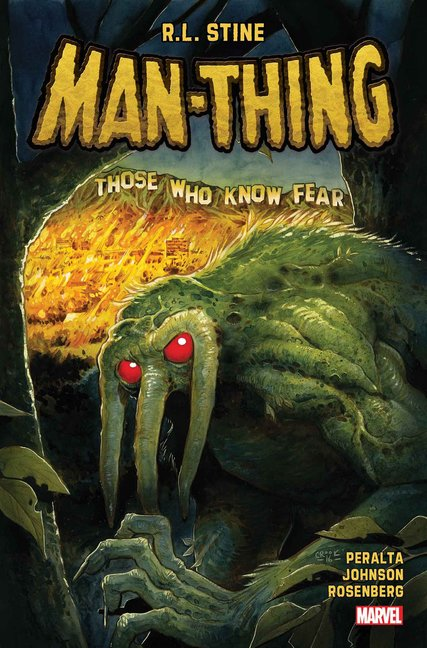 R.L. Stine to Write Man-Thing Series for Marvel