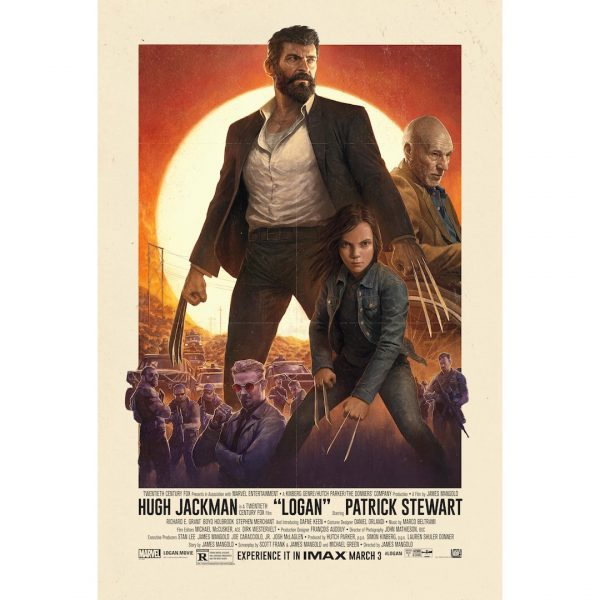 check out the retro logan poster hugh jackman posted on twitter