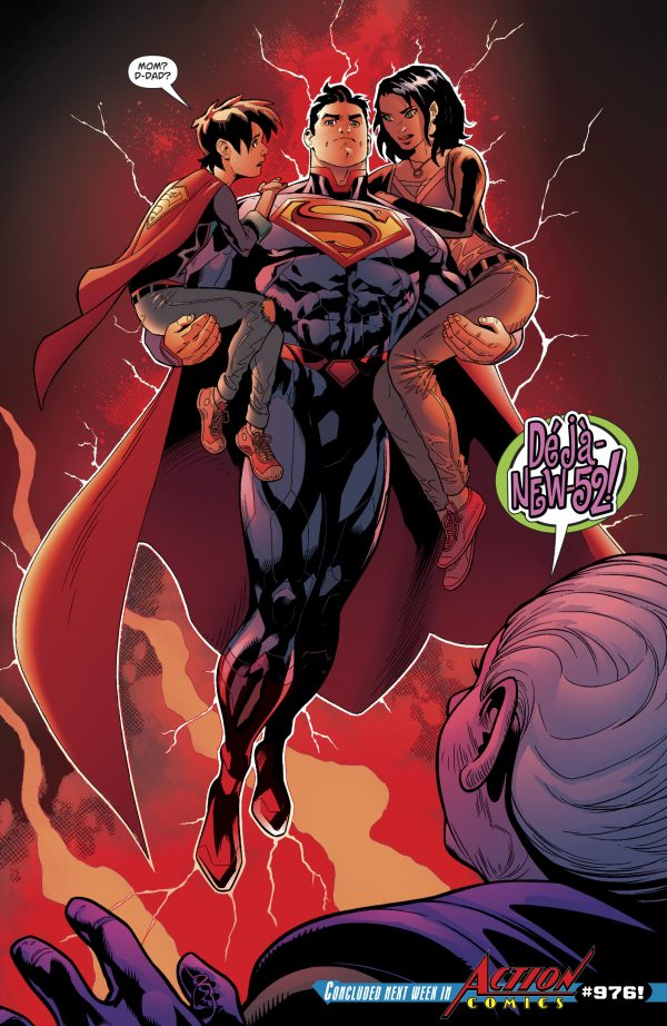 so what actually are the new 52 superman and the pre 52 superman