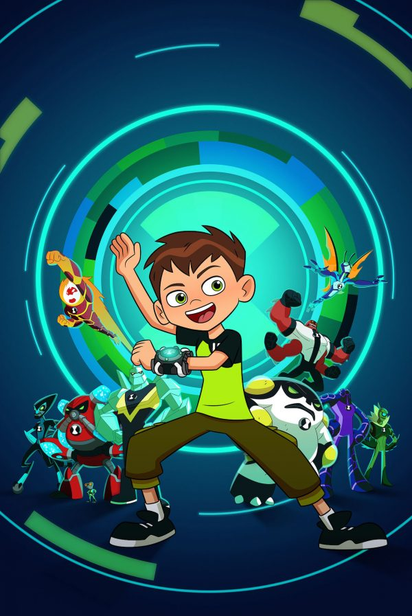 Ben 10 – The newest show coming out of the highly successful franchise has launched multiple animated series, and numerous animated and live-action movies.