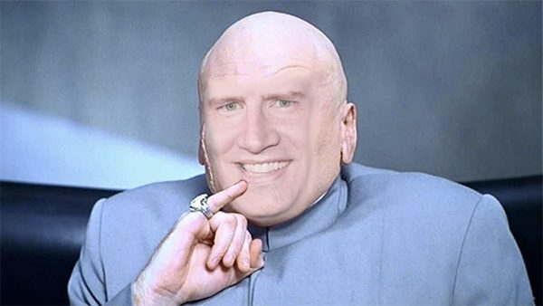 Marvel Studios head Kevin Feige at the moment he got the budget approved.