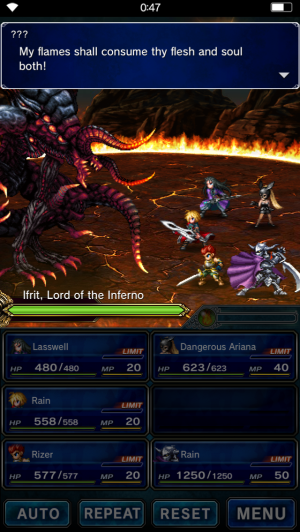 FFBE March on Ifrit
