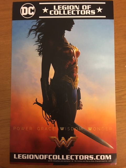 Legion of Collectors Wonder Woman Box Teaser