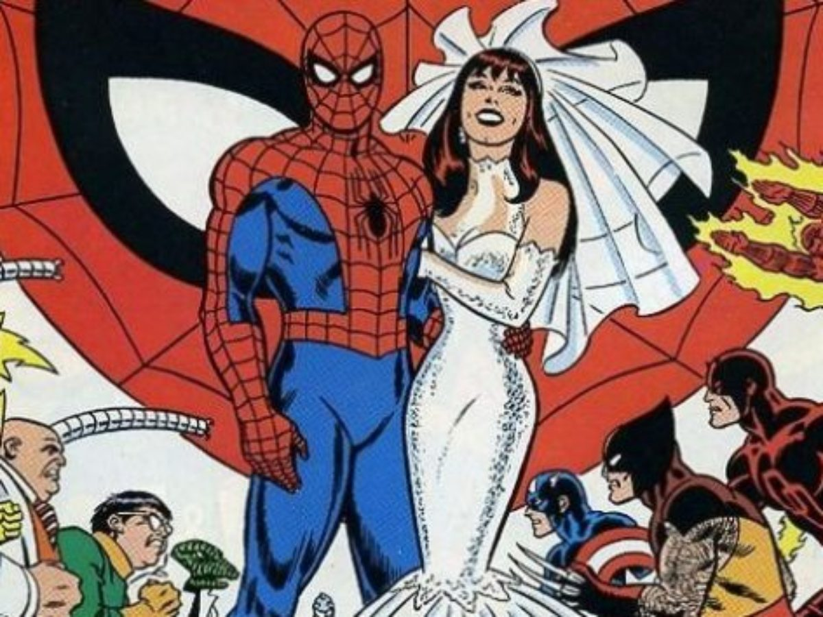 Peter Parker and Mary Jane Watson Marriage