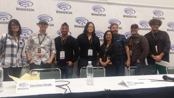 Phil Jiminez And Crew At The Panel