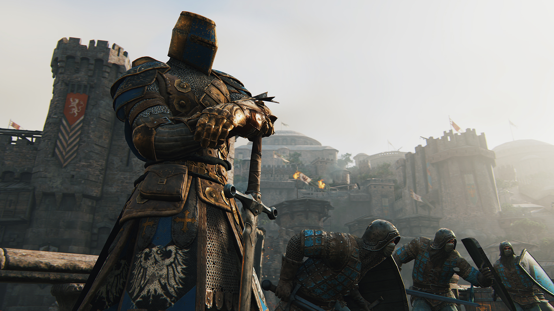 ubisoft giving for honor dedicated servers, two more content seasons