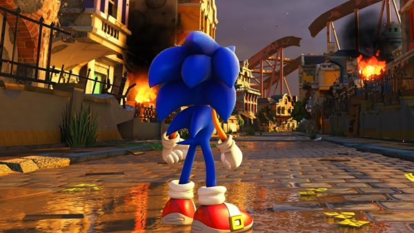 SEGA Shows Off Sonic Forces Custom Character Mode - Design your own character games