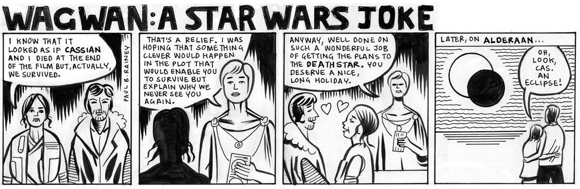 star wars rogue one comic strip ending
