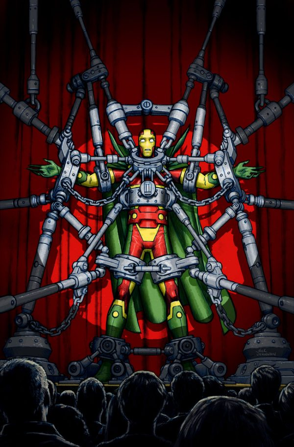 Nick Derington cover for Mister Miracle #1