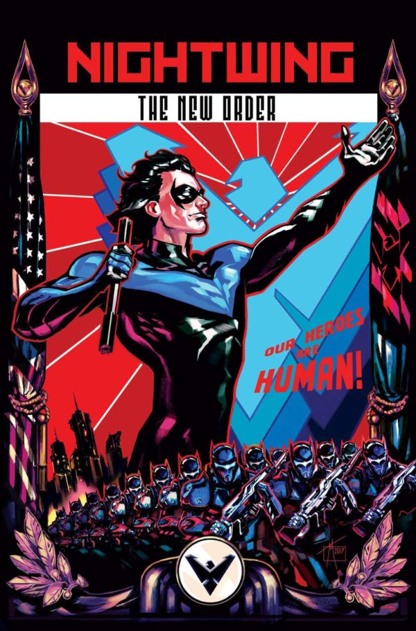 Image result for nightwing new order #1