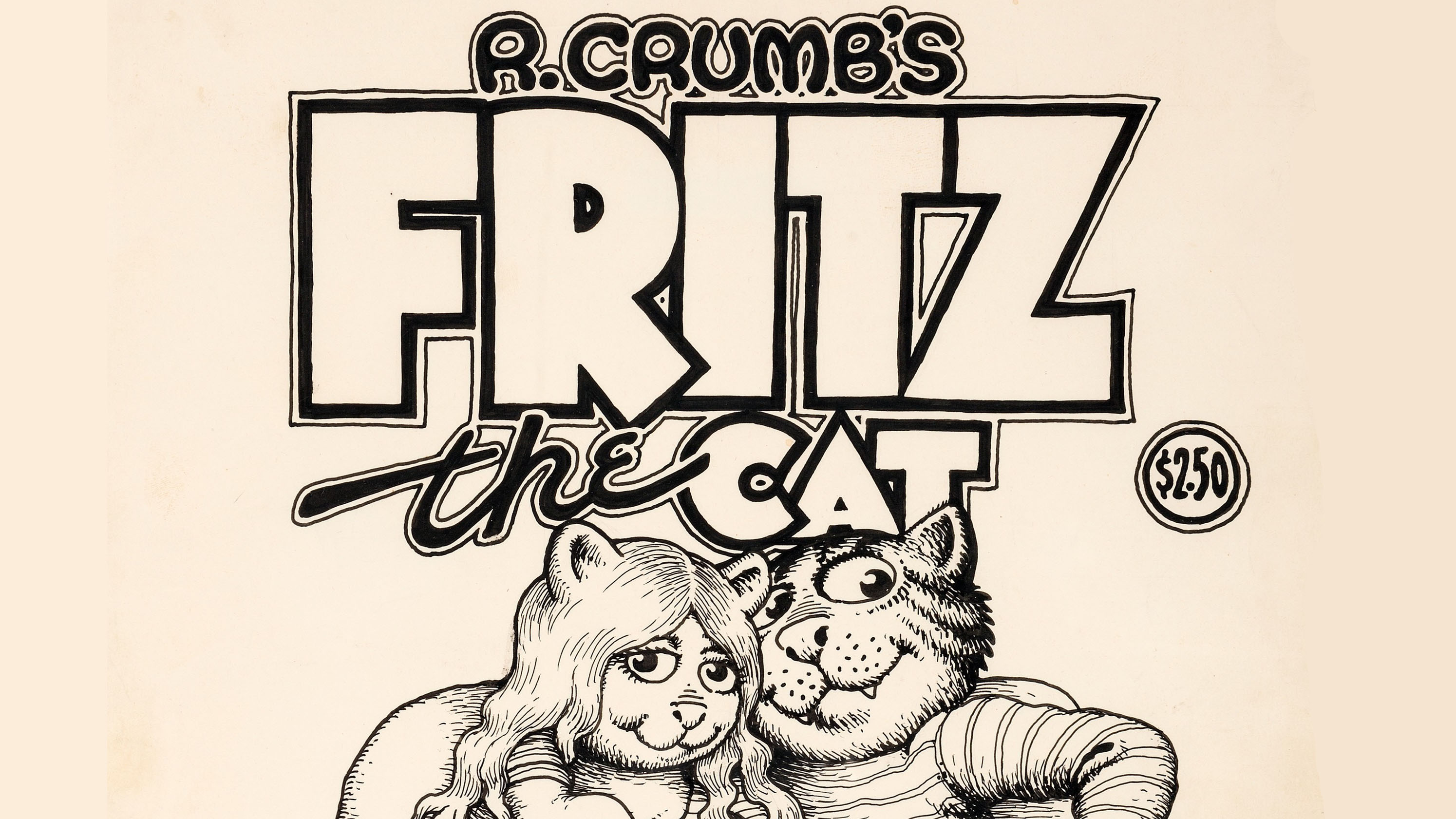 Robert Crumb 1969 Fritz The Cat Cover Art Sells For Record 717 000 At Auction