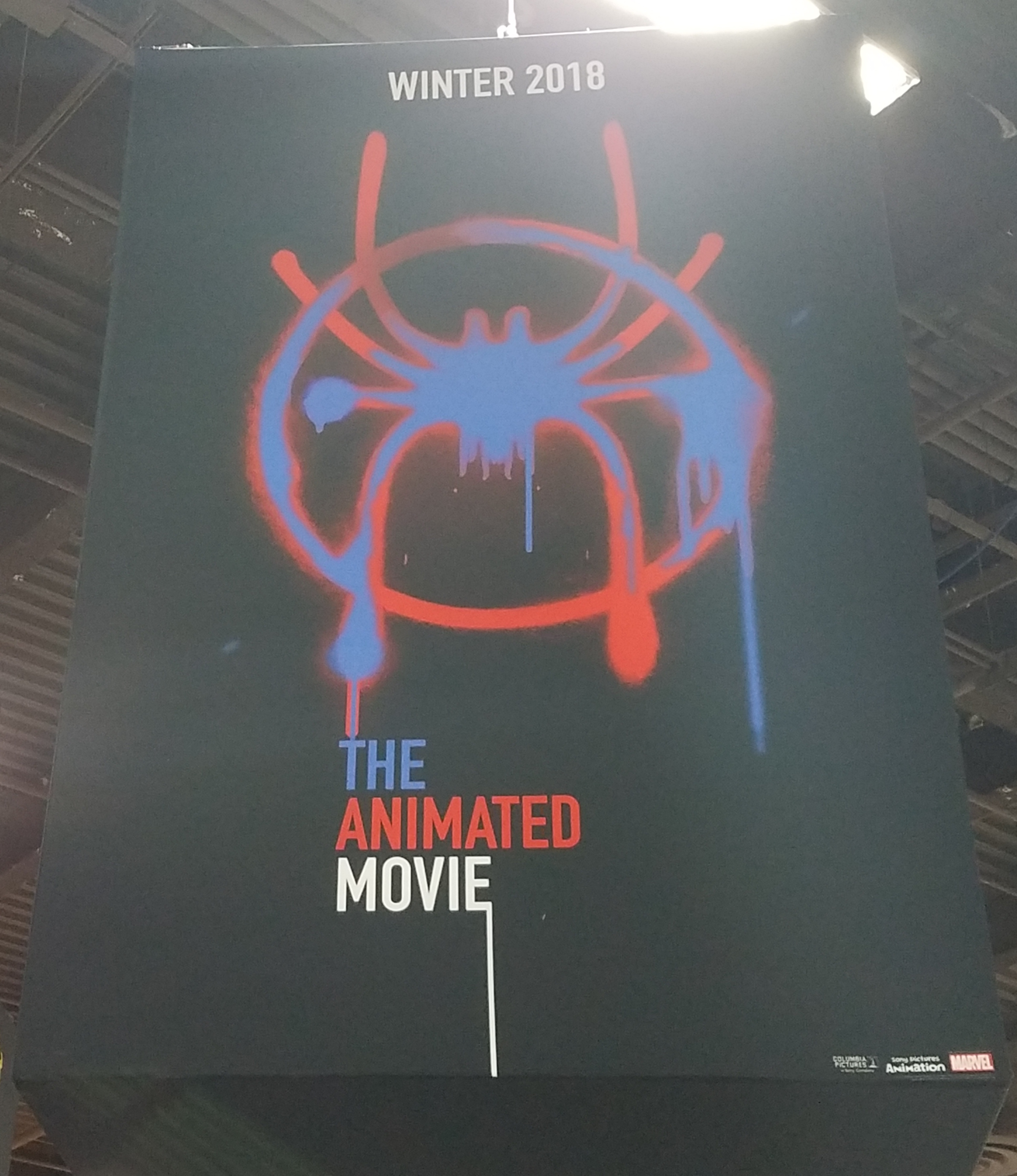 Spider Man Animated Movie Banner Expo
