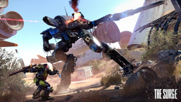 The Surge: A Walk In The Park Has Launched With a New Trailer