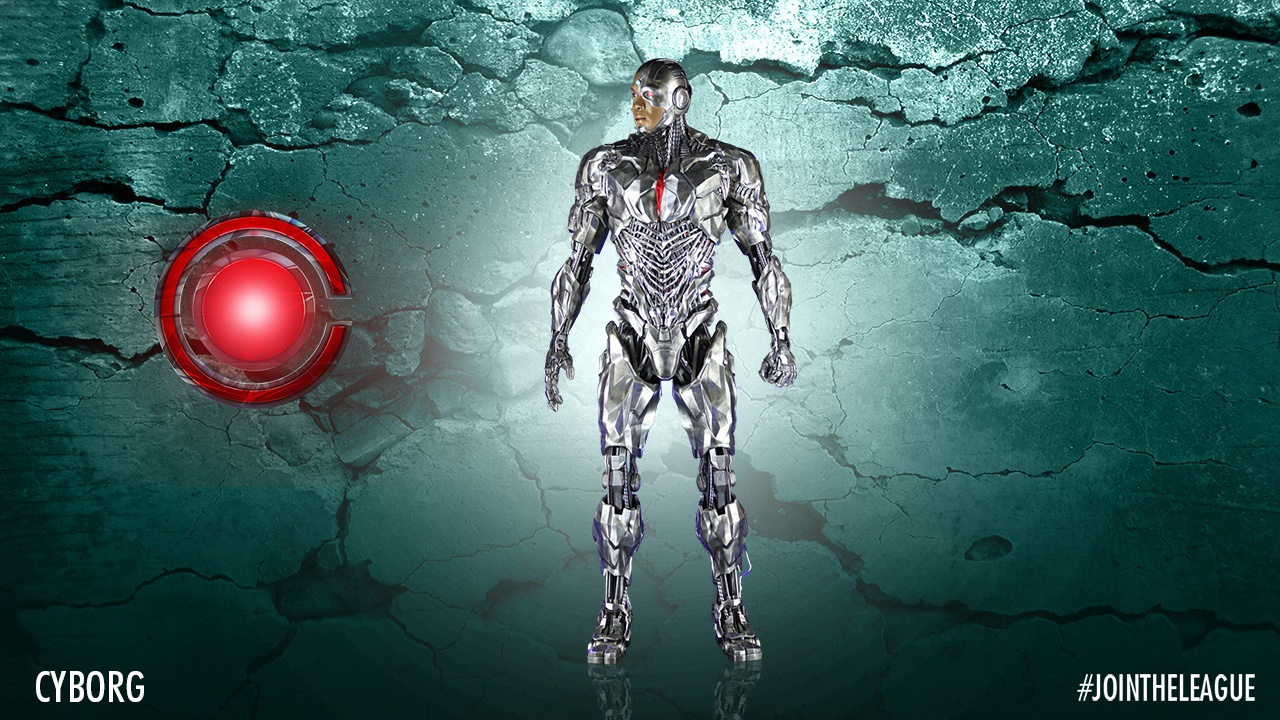 Justice League Costumes - Cyborg