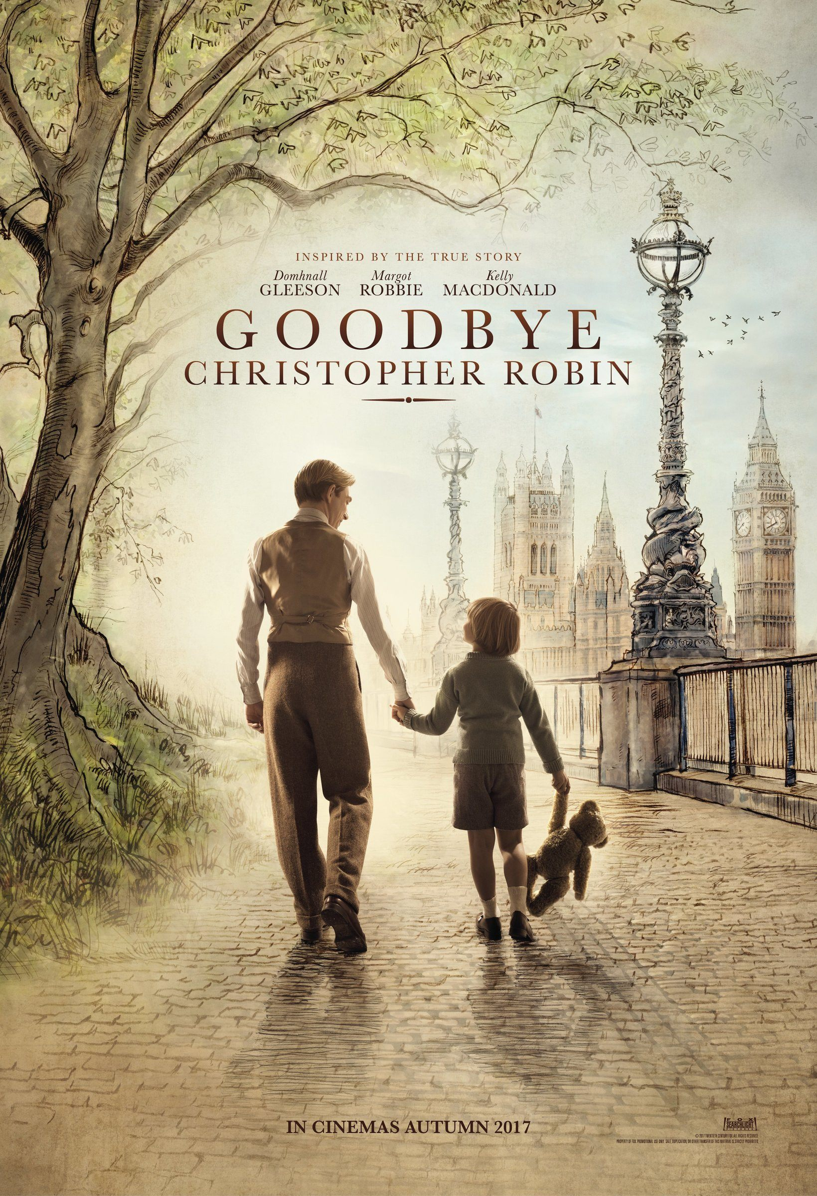 Goodbye Christopher Robin, Amy Robsart Hall, Syderstone PE31 8SD | Winnie the Pooh's world is enchanting, but it proved to be less so for the author and his son. | cinema