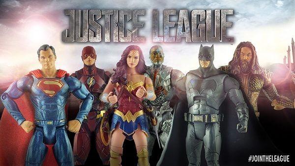 Mattel Justice League Multiverse 6 Inch Figures