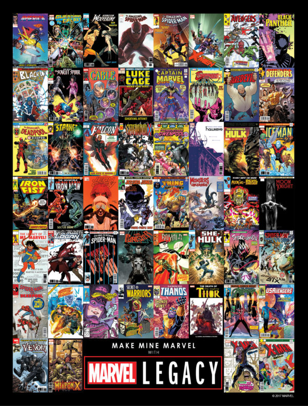 Creators Asked Not To Promote Their Marvel Legacy Comics…Yet