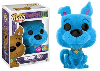 SDCC Funko Scooby Doo Flocked Blue