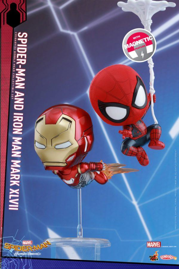 Simple And they are releasing a bunch all with quite a few cool features that I wish all Spider Man figures came with
