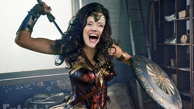 hillary clinton wonder woman