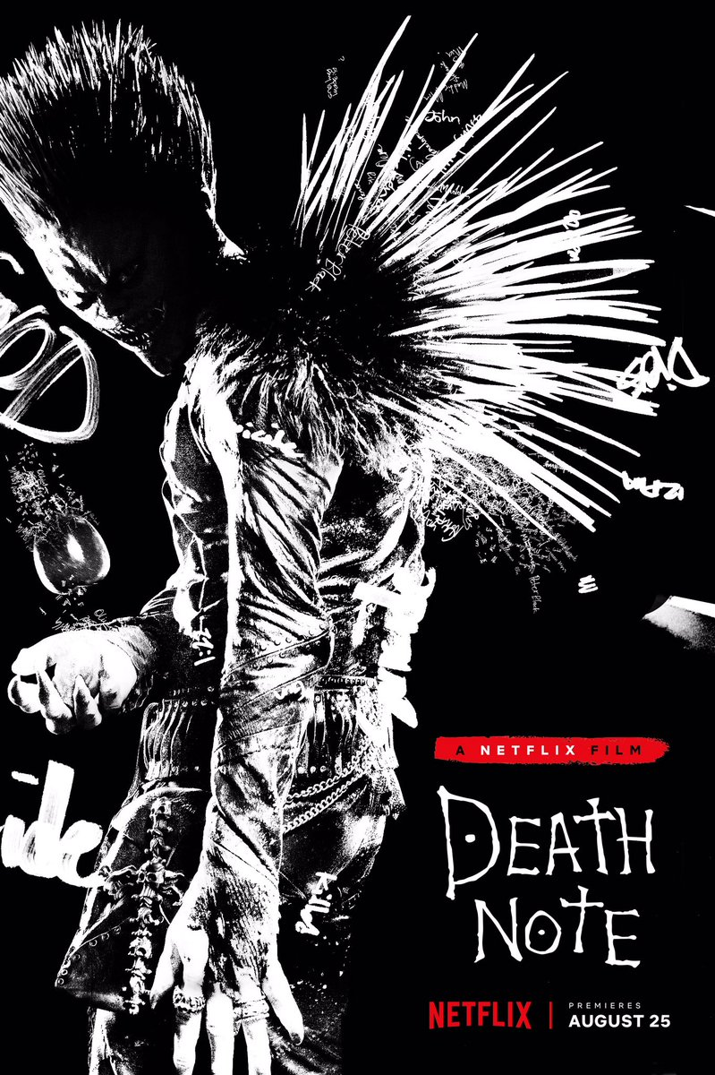 Image result for death note netflix movie poster free use