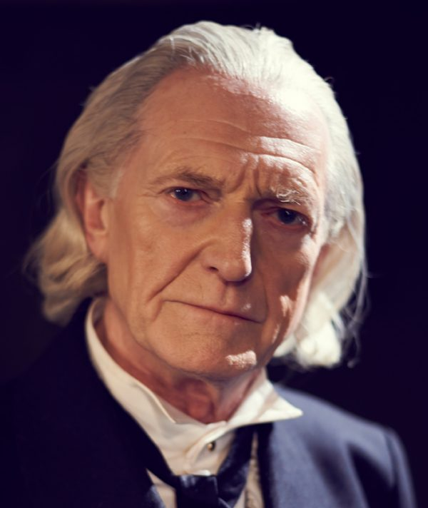 be reprising his role as william hartnell in an adventure in space and time and play the first doctor both in next weeks episode and the christmas