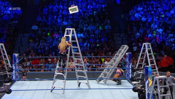 Who Will Be Victorious? WWE Smackown Women's Ladder Match, Round 2