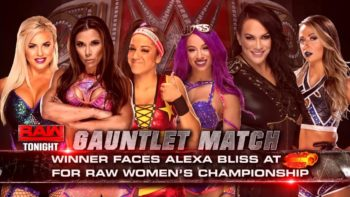 Sasha Banks Wins First-Ever WWE Women's Gauntlet Match, Will Face Alexa Bliss