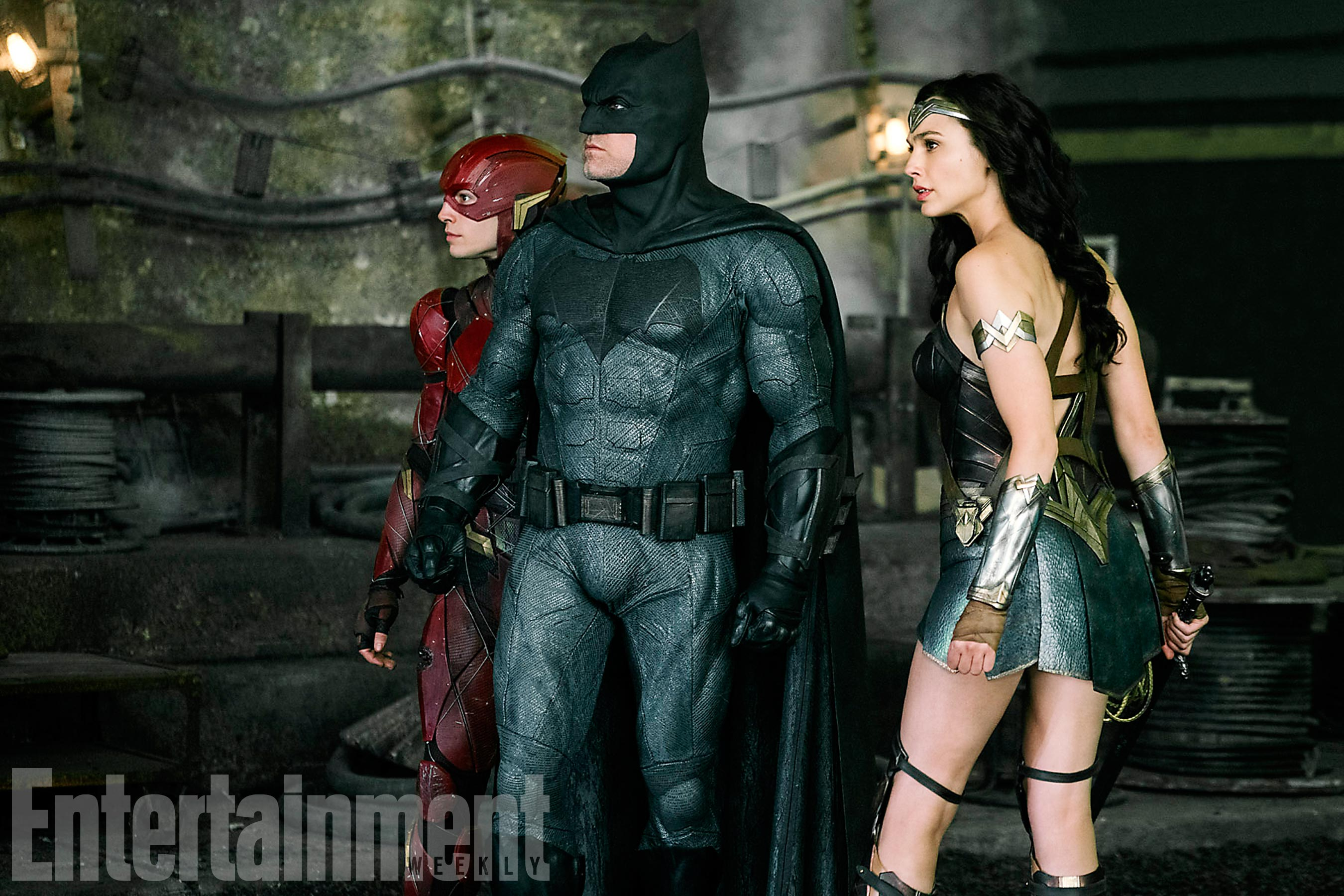 New Image From 'Justice League' Featuring Batman, Wonder Woman, And The Flash