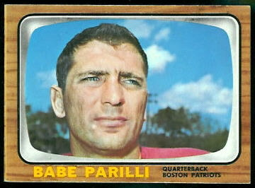 Former NFL Quarterback Vito 'Babe' Parilli Dies At The Age Of 87