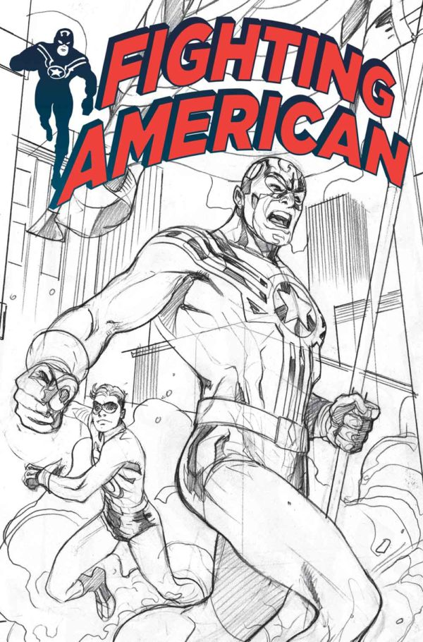 Titan Comics To Debut Fighting American #0 At San Diego Comic-Con For Jack Kirby's 100th