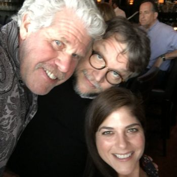 Hellboy 3's Ron Perlman, Guillermo del Toro, and Selma Blair
