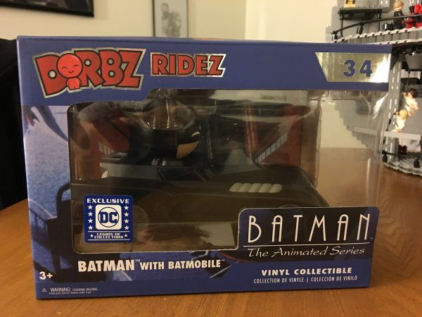 Batman The Animated Series Funko Legion of Collectors Box Dorbz Ridez 1