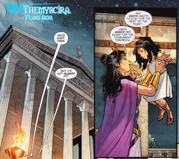 Wonder Woman #26 Tells A Story Of Little Princess Diana, Ripped Straight From The Movie