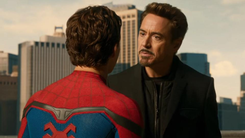 Robert Downey Jr On Tony Stark Being A Father Figure