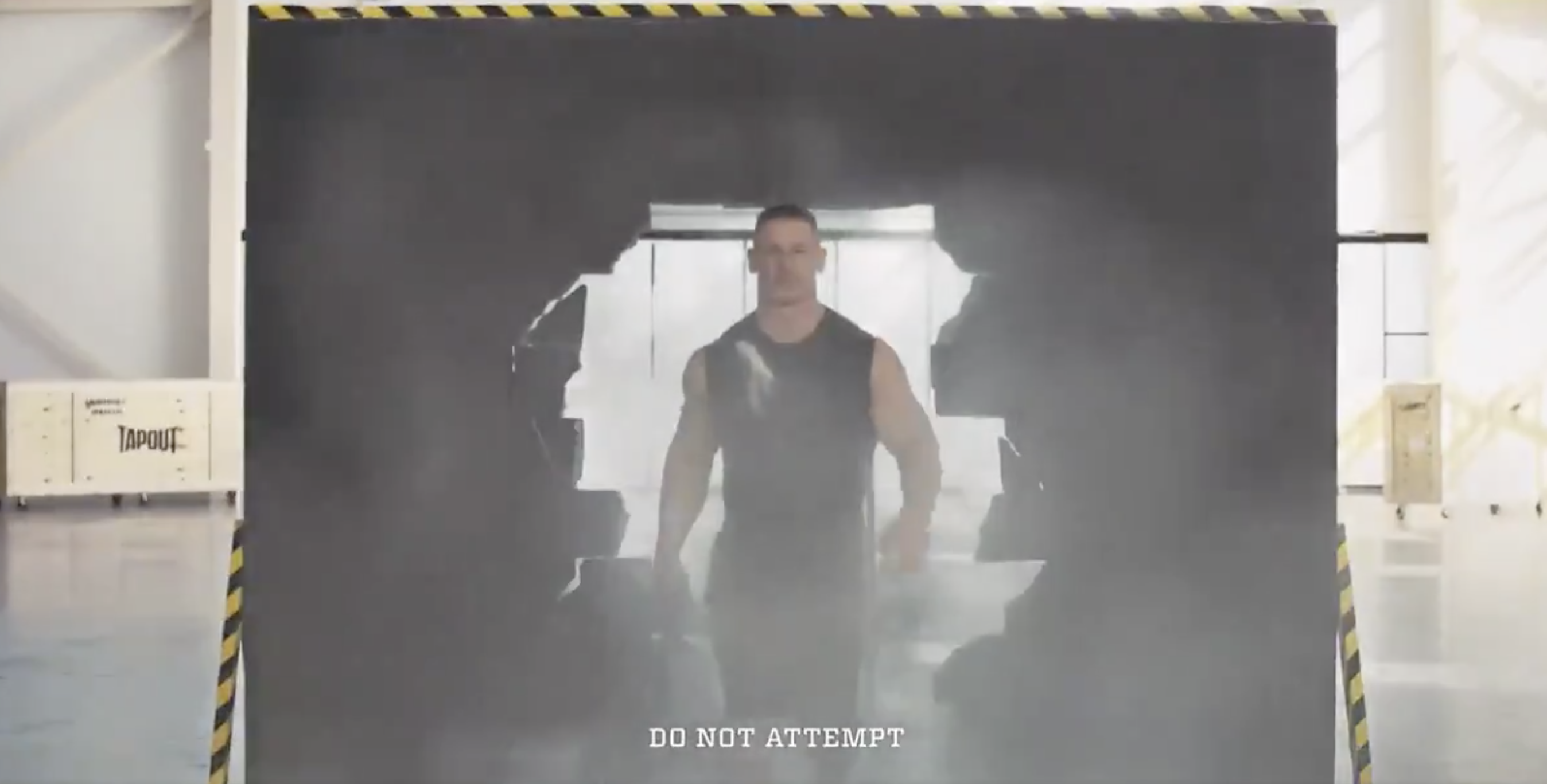 John Cena Tapout Body Spray commercial