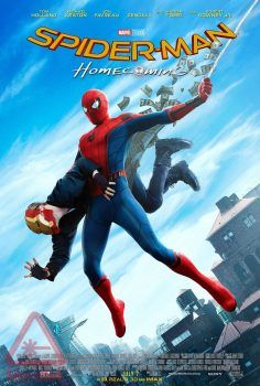 Spider-Man: Homecoming poster after Steve Ditko's Amazing Fantasy #15 cover