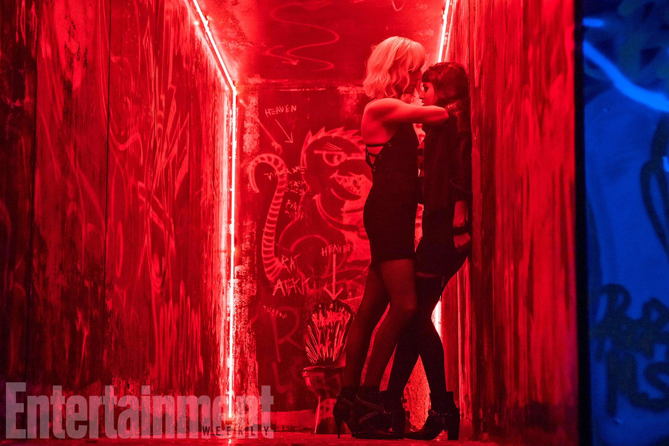 New Photos and Interviews For 'Atomic Blonde' - Bleeding ...