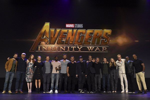 Avengers: Infinity War cast hits the stage at D23 before the Avengers: Infinity War Teaser