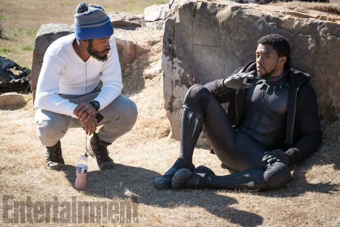 Black Panther BTS