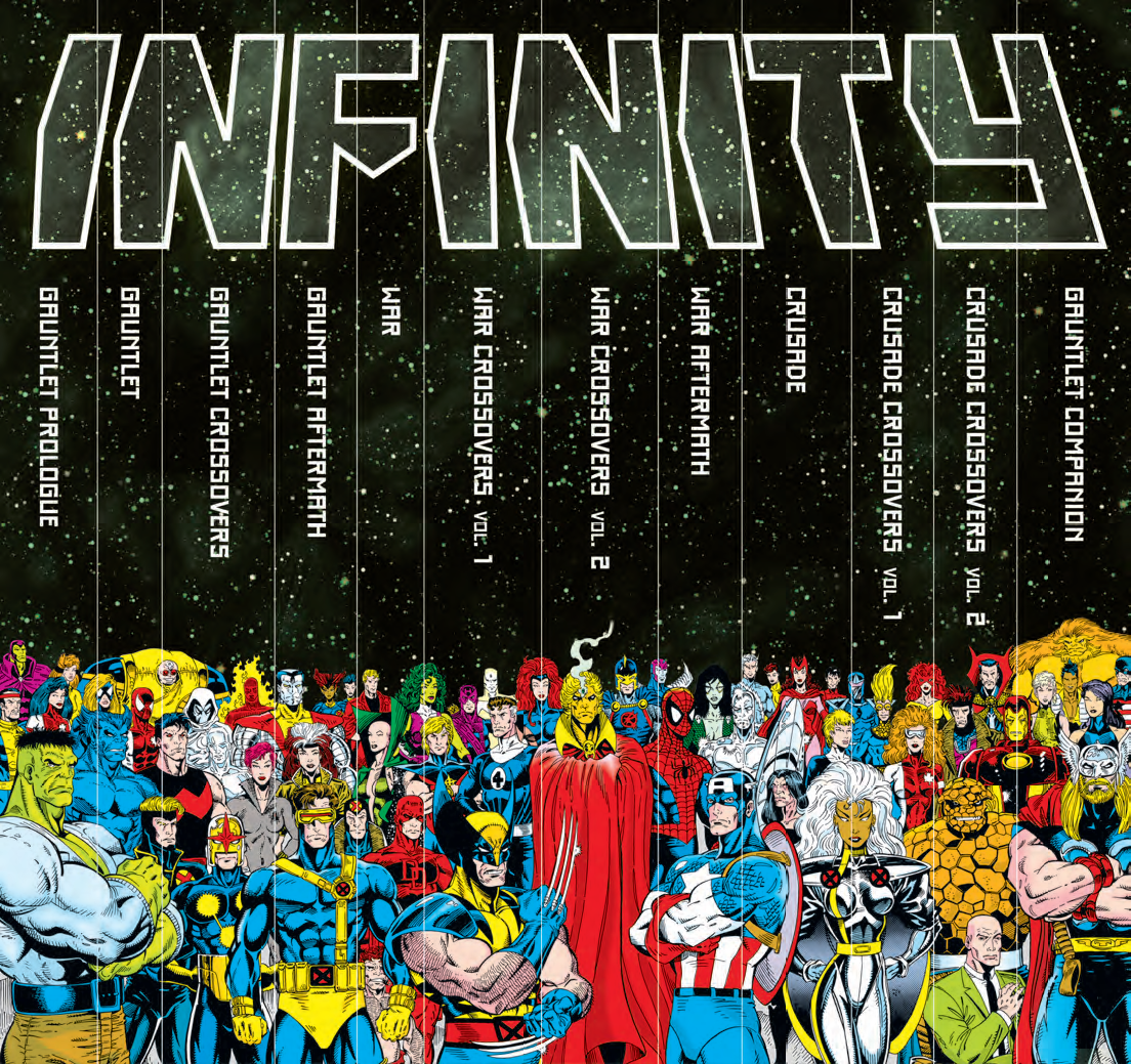 here s what s in the 500 infinity gauntlet slipcase