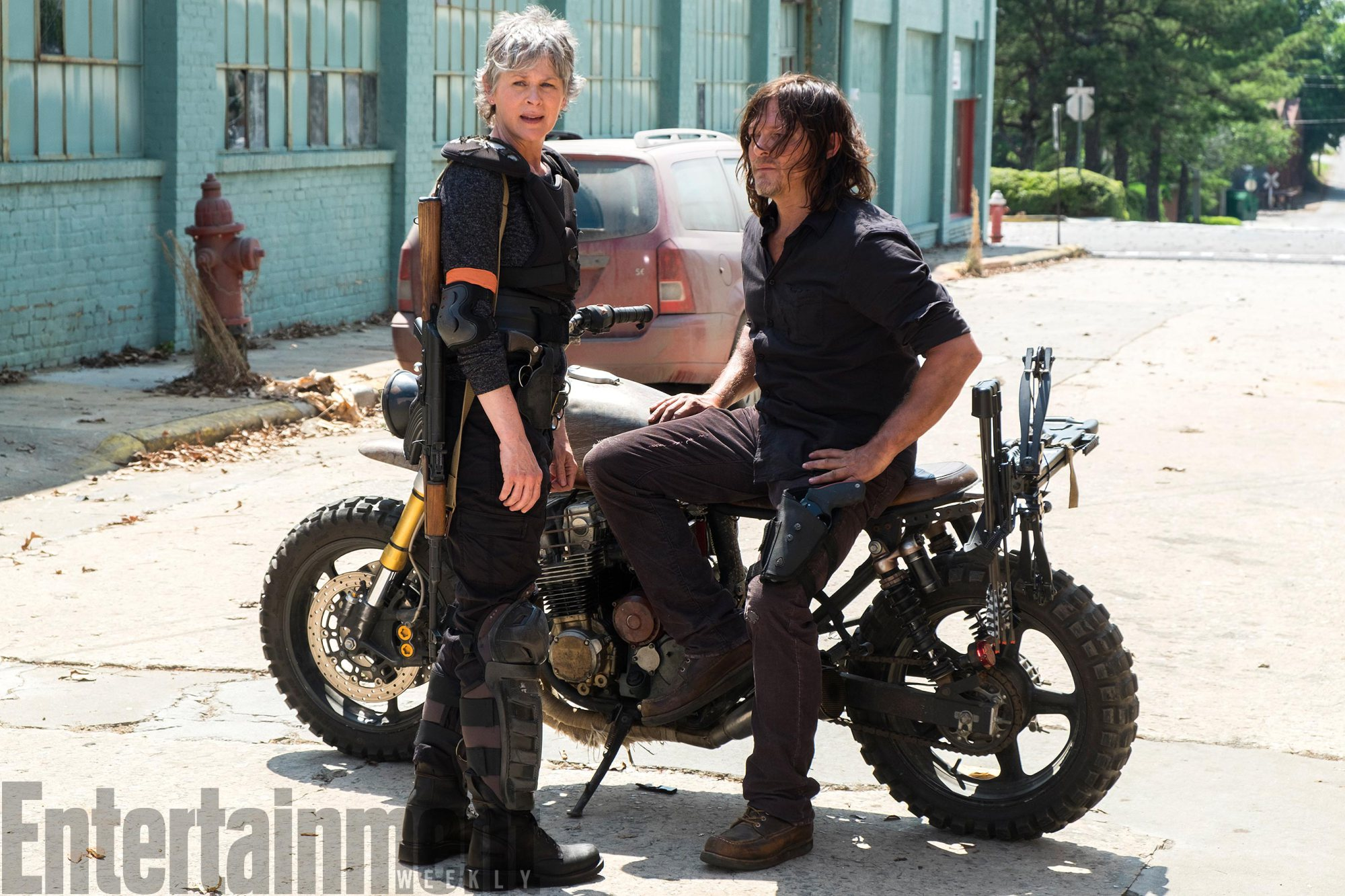 the walking dead season 8 carol daryl