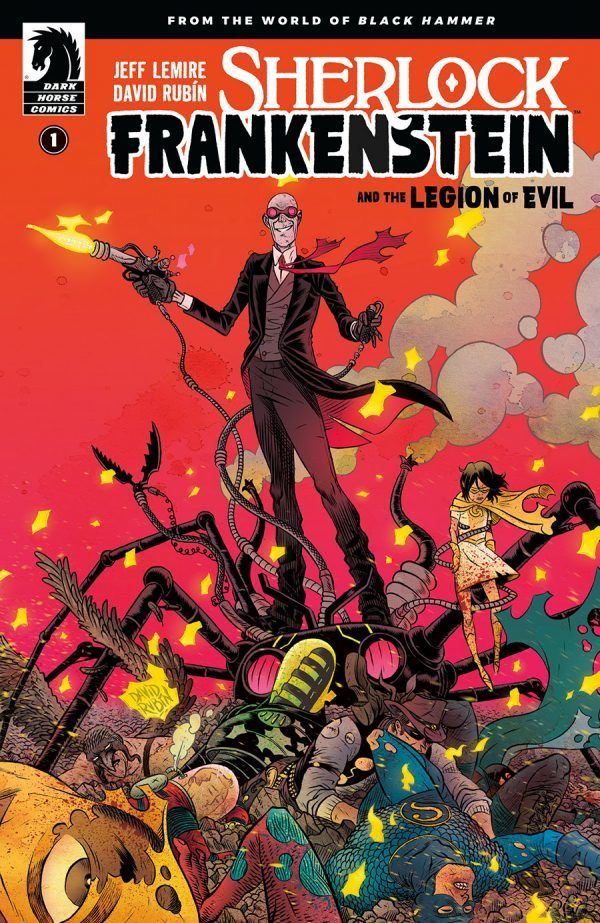Black Hammer Expands Its World With Sherlock Frankenstein & The Legion of Evil Spinoff