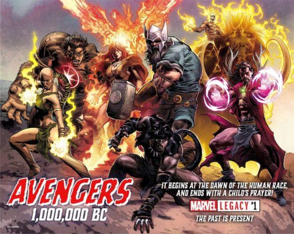 Marvel Legacy #1 Tops Advance Reorders With 1:500 And 1:1000 Editions