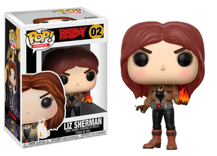 Funko Hellboy Pop Liz
