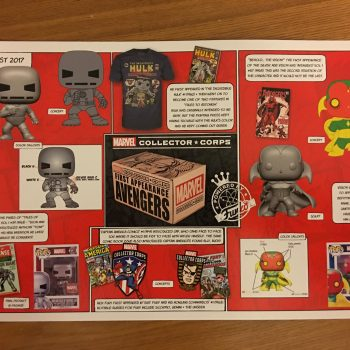 Funko Marvel Collectors Corps First Appearance Box BTS