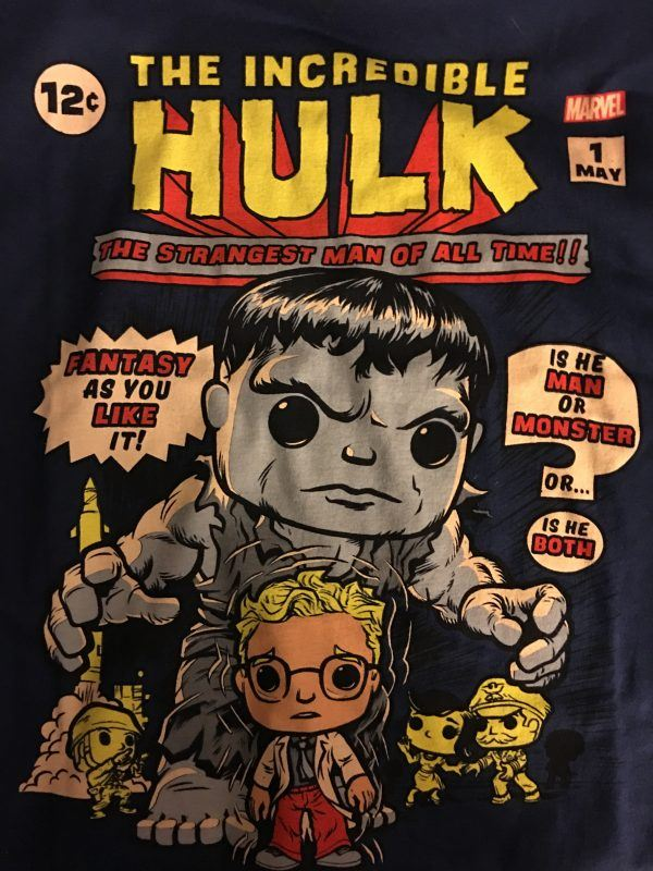 Funko Marvel Collectors Corps First Appearance Box Shirt