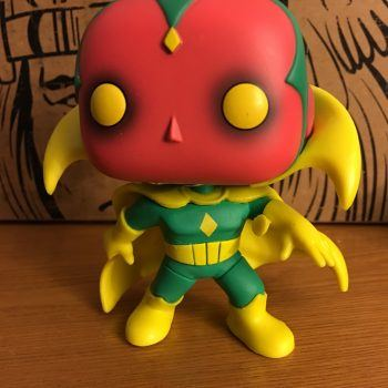 Funko Marvel Collectors Corps First Appearance Box Vision Pop 3